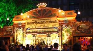 Westfälische Kaufmannsgilde bei Bernd Stelter im Spiegelzelt