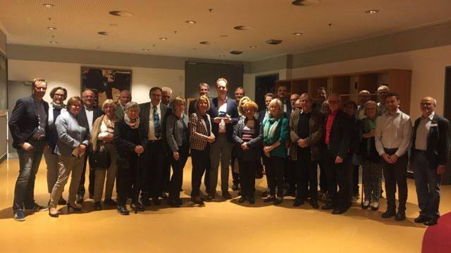 Westfälische Kaufmannsgilde auf Tuchfühlung mit der Champions-League